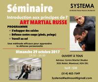 Seminar : Russian Martial Art