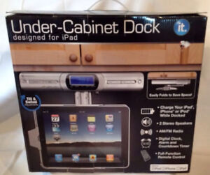 Under Cabinet dock for iPad