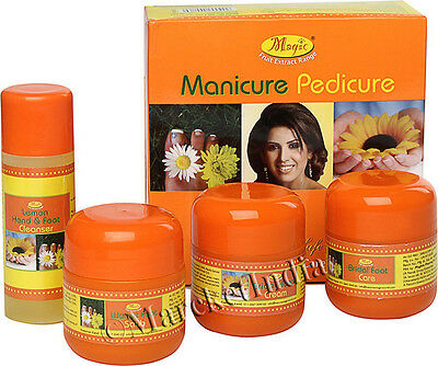 Nature's Essence Manicure Pedicure Hand & Foot Care Kit 300gm+125ml