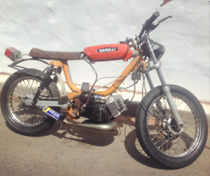 1972 garelli eureka flex moped WITH OWNERSHIP