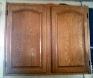 Kitchen cabinets for sale (new price $850.00)