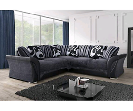 ♠️ Brilliant Shannon Corner Sofa 🛋️ Elegant and Luxury ♠️📞 Now 🚛