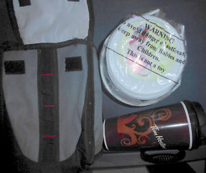 Water bottles $2 ea, lunchbag with container, Tim Hortons cup $3 Kitchener / Waterloo Kitchener Area image 1