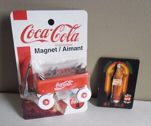 Coca-Cola 3D Magnets Set of Two
