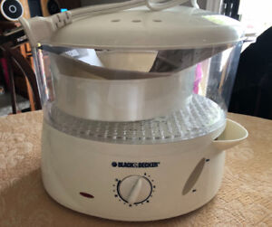 Black and Decker Veg and Rice steamer