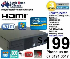 HOME THEATRE / HOME SERVER. HDMI, FAST 3GHz, 4GB RAM, 1000GB HDD. Bethania Logan Area Preview