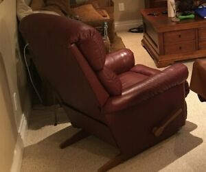 Lazy Boy Recliner - Leather