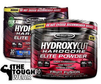 Powder Weight Loss (Muscletech Hydroxycut Hardcore Elite Powder 30serv - 2 Flavors - Weight)