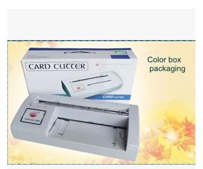 300b Automatic Name Card Slitterbusiness Card Cutting Machinename Card Cutter