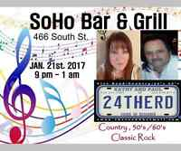 Soho Bar & Grill presents 24THERD