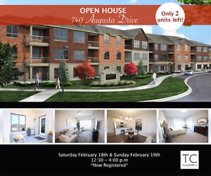 Open house Augusta Glen Adult Lifestyle Condo's