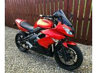 KAWASAKI ER-6F - ER650 - SUPERB LOW MILEAGE EXAMPLE WITH MANY FITTED EXTRAS