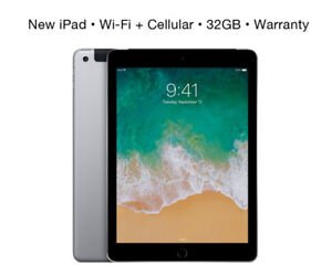 32GB iPad ~ Wi-Fi + Cell ~ As-New ~ Apple Warranty ~ $480 Firm