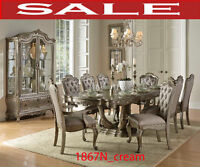 Model 1867N_cream,  formal dining set