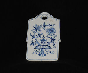 Meissen Blue Onion Cheese board - 6 units available (price/unit)