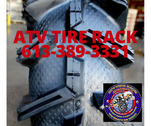Can-Am RICOCHET Skid Plates Canada  ATV TIRE RACK Custom Colours Kingston Kingston Area image 4
