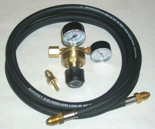 Argon or Argon/CO2 Mix Regulator Mig Tig Welding CGA 580 w 10