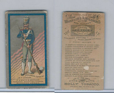 N303 Mayo  Costumes Of Warriors   Soldiers  1892  Prussian Infantry  18Th