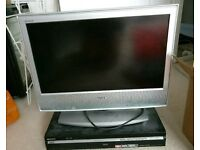 20'' Sony TV with Sony DVR player
