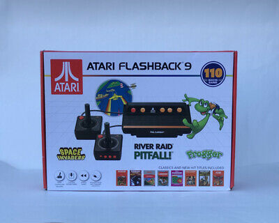 ATARI FLASHBACK 9 Console 2 Controllers 110 Built In Video Games NEW