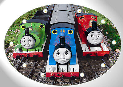 Thomas Beleuchtung Wand (Wandlampe Thomas die Lokomotive  - Motiv 4 - Kinderlampe- Wandleuchte )