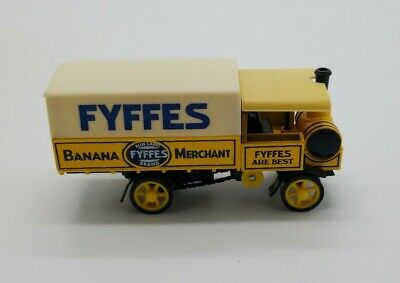 Matchbox 1917 Yorkshire Steam Wagon Fyffes Banana Y-32 Models of Yesteryear 1987