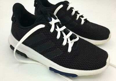 Adidas Unisex Cloudfoam Black Racer Tr K Db1300 Running Shoes Trainers UK 4 for sale  Shipping to Nigeria
