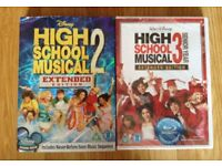 HIGH SCHOOL MUSICAL FILM 2 AND 3 DVD