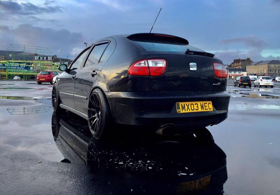 seat leon cupra r fully forged not evo vxr type r st rs glanza turbo in helensburgh. Black Bedroom Furniture Sets. Home Design Ideas