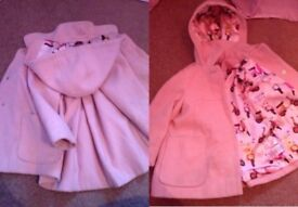 Next pink coat size 2-3 years. Collection from fair oak