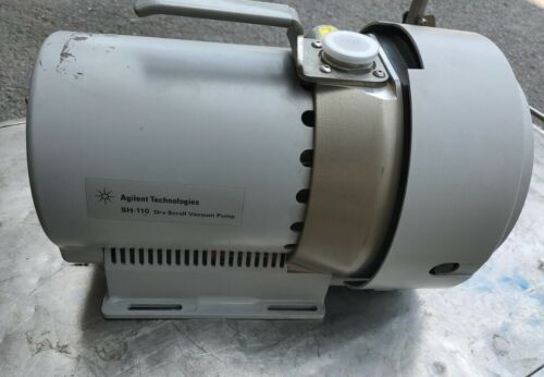 Agilent /Varian SH110 Dry Scroll Vacuum Pump, Refurbished with  3months warranty