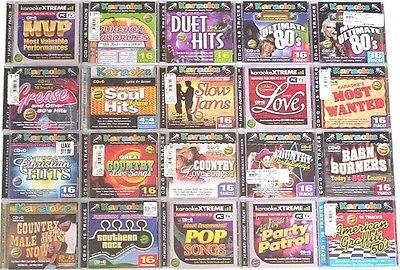 40 Karaoke Bay Cdg Cds W/lyrics On Screen Wholesale Lot