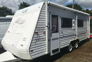 2002 Jayco Heritage 21ft Ensuite Annex Gympie Gympie Area Preview