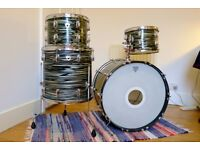 1968 Ludwig Standard, Blue Strata wrap - very good condition
