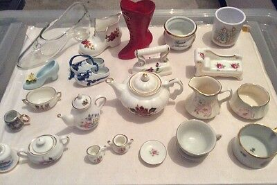 huge collection of china minitures various types
