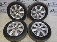 X4 Volkswagen Polo Genuine Alloys Wheel Set With Tyres
