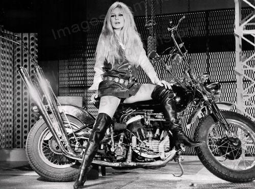 8x10 Print Brigitte Bardot Leather High Boots #BB82