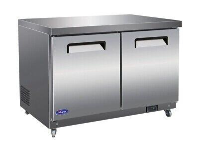 Valpro Vpucr48 48 2-door Commercial Undercounter Worktop Refrigerator New