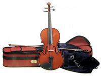 Stentor Student II Three-Quarter Size (¾) Violin + 2 grade 1 books