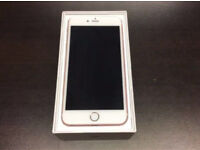 IPhone 7 Plus 32gb Unlocked rose gold very good condition with warranty and accessories
