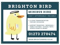 Brighton Bird - Easy and Affordable Minibus Hire