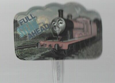 """Thomas the Tank Engine - Full Steam Ahead - Cake Topper Decoration 5"""" by 2 1/2"""""""