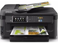 Epson WorkForce WF-7610DWF /mint condition/ multifunction printer colour inkjet