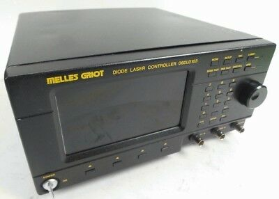 Melles Griot 06dld103 Diode Laser Controller Driver - As-is For Parts Or Repair