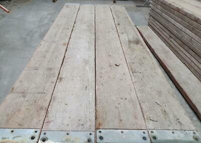 MJ Gerüst Boden Böden 300cm für Plettac Gerüst  Holzdielen Holzbohlen
