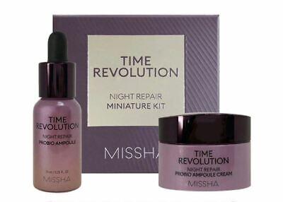 Missha Time Revolution Night Repair Miniature Kit 2 items SING-SING-GIRL