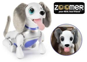 NEW Zoomer Playful Pup, Responsive Robotic Dog with Voice Recognition and Realistic Motion, for Ages 5 and Up Condtio...
