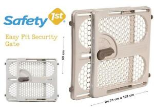 NEW Safety 1st 418170300 Easy Fit Security Gate Condtion: New