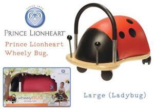 NEW Prince Lionheart Wheely Bug, Large (Ladybug) Condtion: New, Ladybug