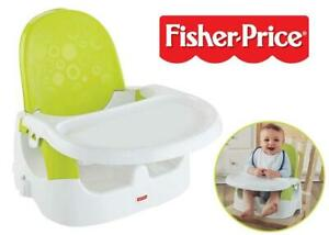 NEW Fisher-Price Quick-Clean n Go Portable Booster Condtion: New